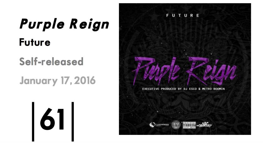 Purple Reign Score